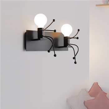 Personality SIMS wall lamp wall lamp contemporary and contracted hotels family LED wall lamp manufacturers