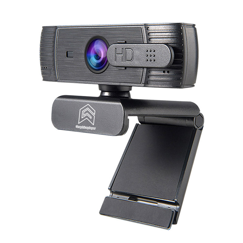 Webcam 1080P Auto Focus , HDWeb Camera 1920 X 1080p With Built-in HD Microphone USB Plug