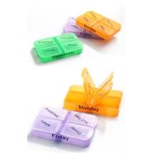 'The Best' 7 Days Pill Case Tablet Sorter Medicine Weekly Storage Box Container Organizer 889