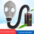 Маска для лица  газовая маска  промышленный химический газовый формальдегид  паровой фильтр пестицидов  газовый бак  полностью закрытый рес...
