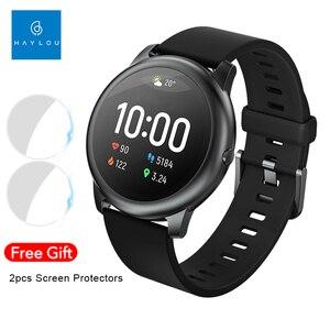Haylou Solar LS05 Смарт-часы спортивный металлический монитор сердечного ритма во время сна IP68 Водонепроницаемая глобальная версия для мужчин и же...