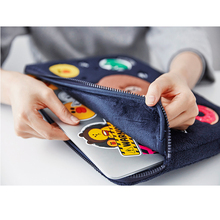 cute animal pattem Laptop case bag sleeve 10 11 12 13.3 14 15 15.6 inch For Laptop bag case for Macbook air pro 13