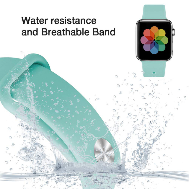 Pulseira de Silicone para Apple Watch 38mm / 42mm 3