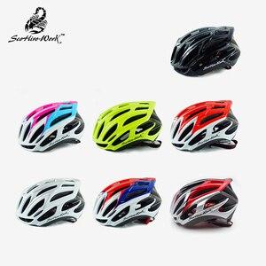 Image 5 - 超軽量インモールド自転車ヘルメット男性の女性のため道路mtbマウンテンバイクヘルメットエアロサイクリングヘルメット機器カスコciclismo m l