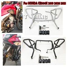 Bumper-Protector Crash-Bar 500X Guard Frame Motorcycle for HONDA CB Lower Upper
