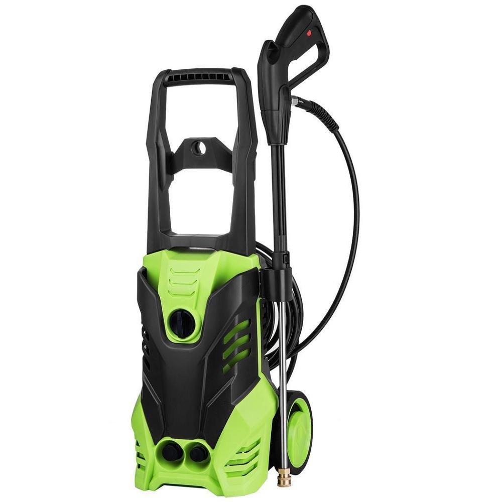 High Pressure Washer Cleaner Car Washer 1800W Powerful 3000PSI 1.7GPM Spray Gun Detergent Bottle Turbo Water Hose