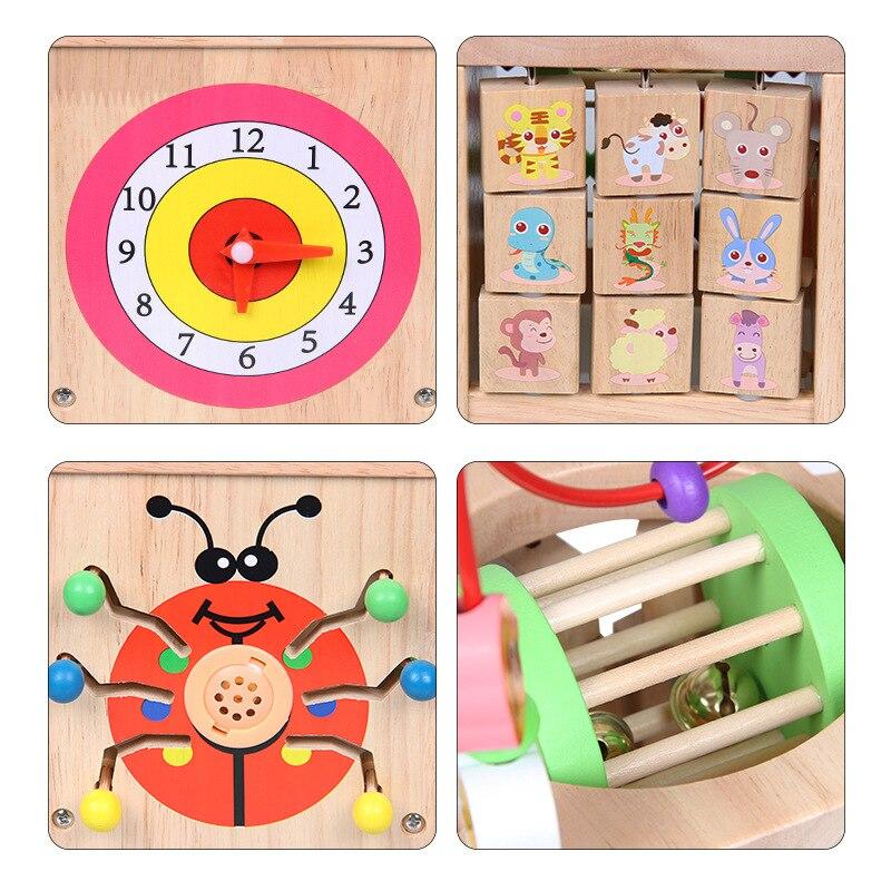 Multi-functional Intelligence Large Size Bead-stringing Toy Treasure Chest Beaded Bracelet Children'S Educational Music Toy Larg
