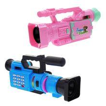 Креативная детская музыкальная видео проекционная имитационная камера ранняя развивающая игрушка