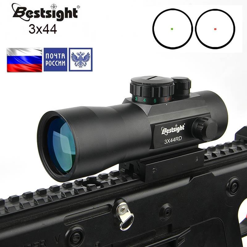 Bestsight 3x44 2x40 зеленый красный точечный прицел тактическая Оптика прицел подходит 11/20 мм рельсовая винтовка для охоты 20mm rifle scope scopes for huntingrifle scope for hunting   АлиЭкспресс