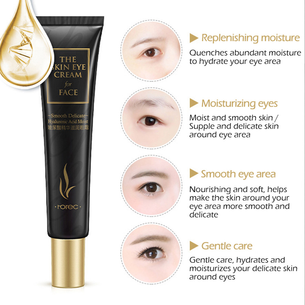 Hot sell Eye Cream Peptide Collagen Serum Anti-Wrinkle Anti-Age Remover Dark Circles Eye Care Against Puffiness And Bags 2