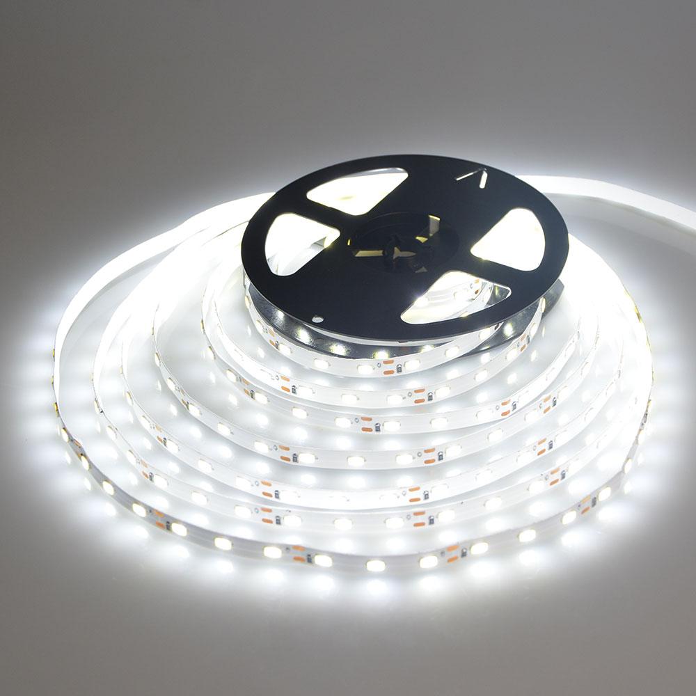 Светодиодный светильник с диодной лентой, Rgb, кухонный водонепроницаемый гибкий Домашний Светильник 5050 2835, 60 светодиодов, 12 В, светодиодный ...