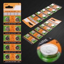 10 pces botão pilha de moeda ag10 1.5v relógio baterias sr54 389 189 lr1130 sr1130 brinquedos controle remoto