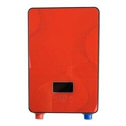 DSK-65H  wysokiej jakości natychmiastowy bezzbiornikowy podgrzewacz wody 6500w 220v termostat nagrzewnica indukcyjna Smart Touch podgrzewacze elektryczne prysznic
