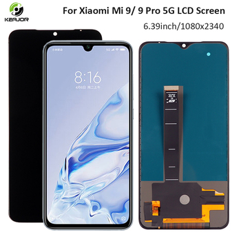 6.39 Display For Xiaomi Mi 9 Pro 5G LCD Display Touch Screen New Digitizer Replacement Parts LCD For Xiaomi Mi 9 Mi9 Display new 7 9 ips lcd display for teclast p85s mini tablet 1024x768 lcd screen panel replacement