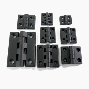 Black Plastic hinge small Door