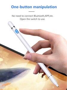 Image 4 - Evrensel Stylus dokunmatik kalem iPad Tablet cep telefonu kapasitif ekran Stylus kalem iPhone Huawei Xiaomi tabletler şarj edilebilir
