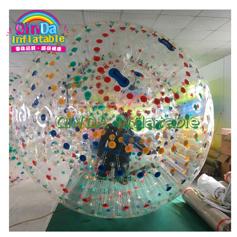 Large PVC Cheap 3m Inflatable Body Zorbing Balls Inflatable Human Hamster Ball For Adults, Grass Zorbing Ball For Sale