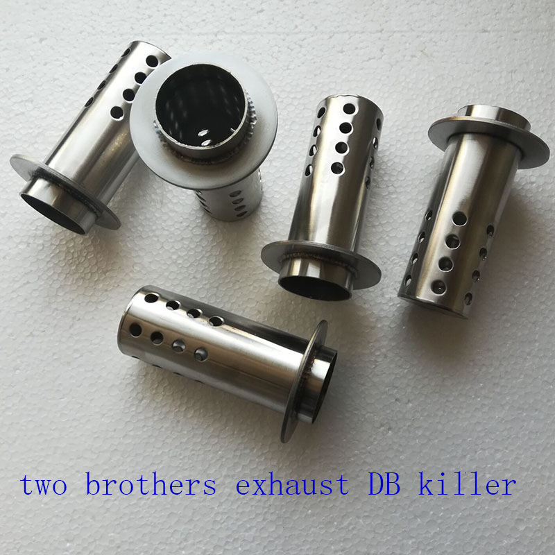 Two Brothers Exhaust Silencer Motorcycle Exhaust Muffler DB Killer Silencer End Catalyst DB Killer Two Brothers Exhaust Silencer|Exhaust & Exhaust Systems| |  - title=