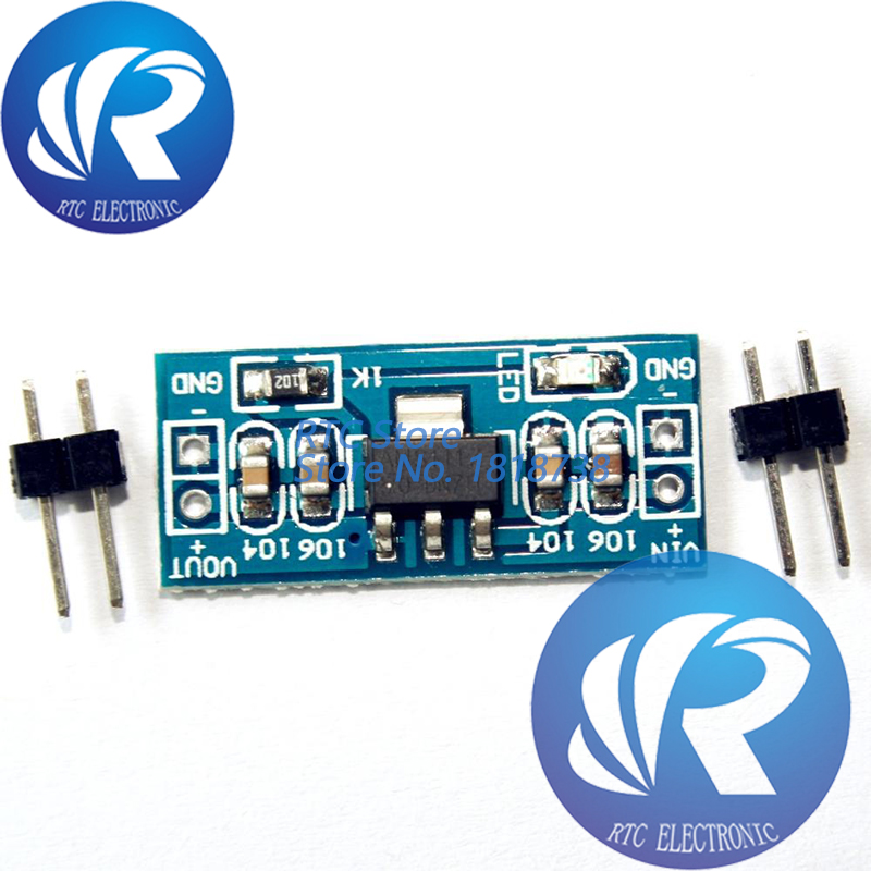 5pcs/lot LM1117 AMS1117 4.5-7V turn 1.2V 1.5V 1.8V 2.5V 3.3V 5V DC-DC Step down Power Supply Module bluetooth Raspberry pi image