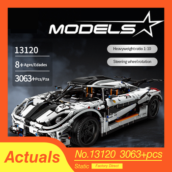 Compatible Lepining 23002 Technic MOC-10574 Koenigseggs Sports Racing Car Model Kit Building Blocks Bricks Toys For Boys Gifts цена 2017
