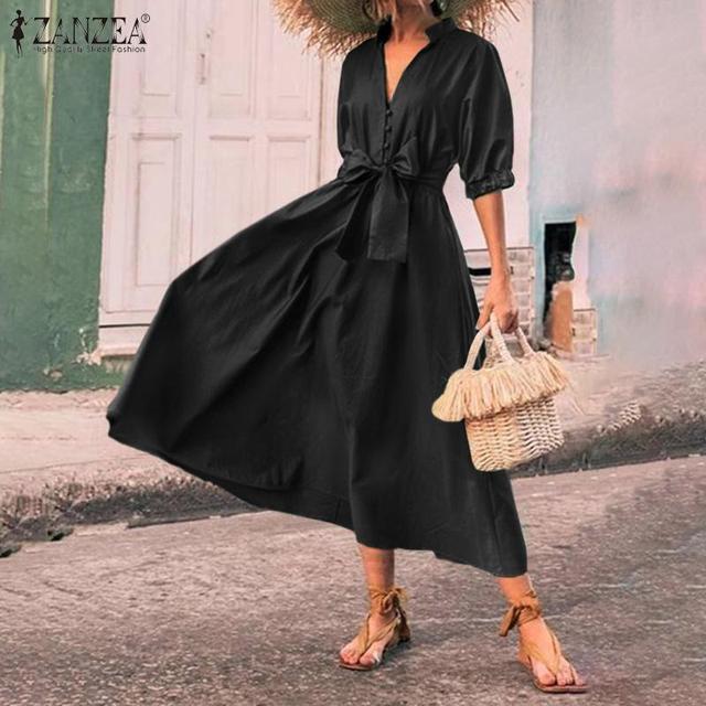 classic belt tye dress, nice bodice, perfect length 3