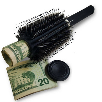 Brush Safe Hair Brush Secret Stash Box Hidden Secret Storage Box key safe box Hollow hair comb Hide Money Home Secret Stash Box 1