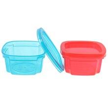 Container Storage-Boxes Snacks Crisper Sealed Baby Portable Mini 200ml Three-Color Boxborn