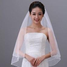 цена на Tanpell Beading Wedding Veils  Elbow LengthTulle Wedding Veil