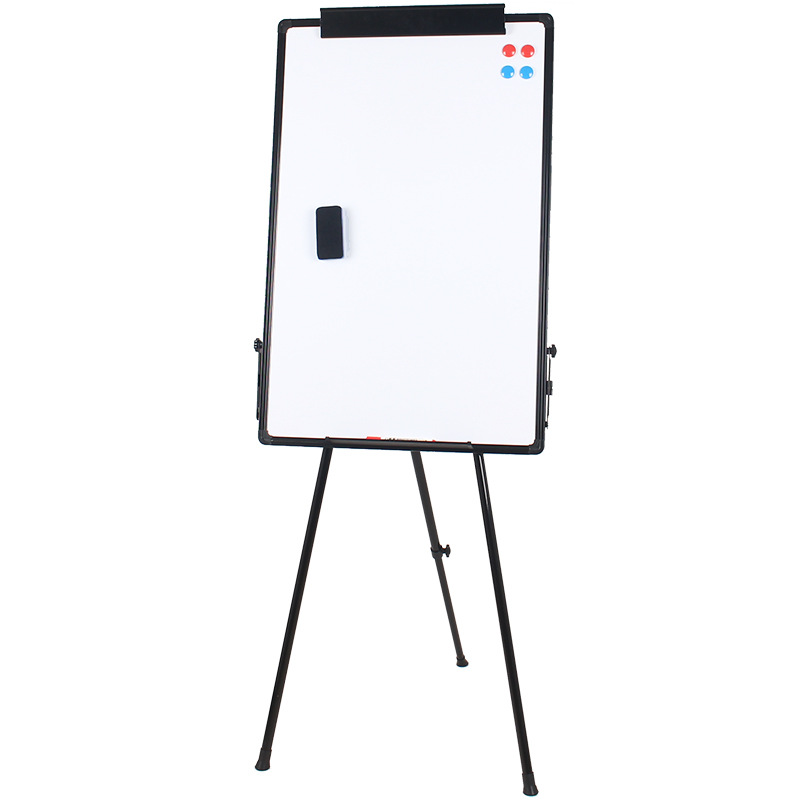 Mobile Bracket Office Meeting Foldable Magnetic Portable Tripod Whiteboard Height Adjustable Magnetic Whiteboard With Stand