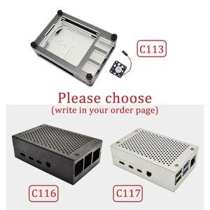 Image 4 - ラズベリーパイ 4 B 2 ギガバイト/4 ギガバイトキットケース + eu の電源アダプタ + スイッチの 3 種類ライン + 16 ギガバイト/32 ギガバイト TF カード + USB カードリーダー + HDMI ケーブル