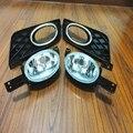 1 комплект Противотуманные фары с прозрачными линзами и противотуманный светильник крышки лицевой панели наборы для HONDA CIVIC 2012-2013