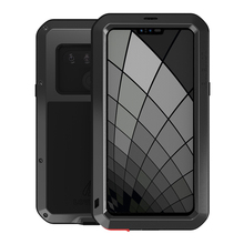 Cases For LG G8S thinQ Luxury Doom Armor Duty Waterproof Shockproof Metal Aluminum Phone Cover For LG G8s ThinQ Three cameras