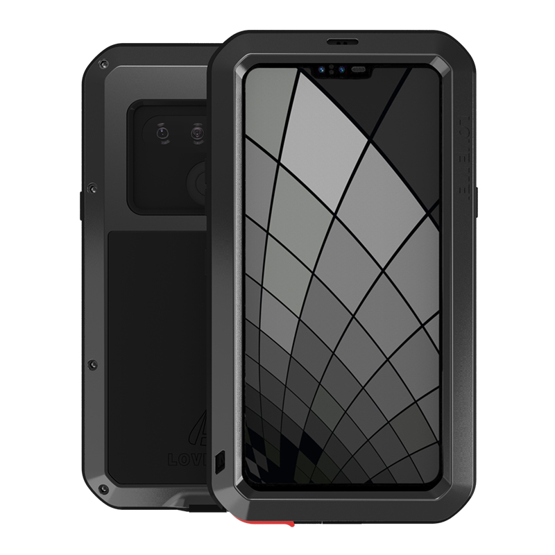 Cases For LG G8S thinQ Luxury Doom Armor Duty Waterproof Shockproof Metal Aluminum Phone Cover For LG G8s ThinQ Three cameras image