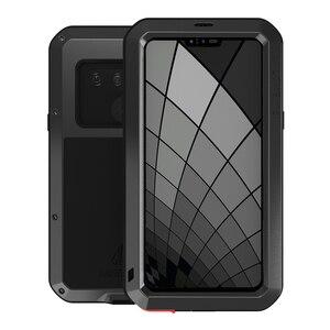 Image 1 - اغلفة ال جي G8S thinQ الفاخرة Doom درع واجب مقاوم للماء للصدمات معدن الألومنيوم غطاء الهاتف ل LG G8s ThinQ ثلاث كاميرات
