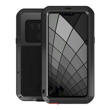 Housses pour LG G8S thinQ luxe Doom armure devoir étanche antichoc métal aluminium couverture de téléphone pour LG G8s ThinQ trois caméras