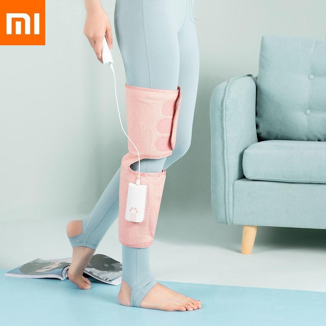2019 Новое прибытие оригинальный Xiaomi Мини Lefan ногой воздушный массажёр 3-мерной кривой Xiomi умный дом для ног Бити Health мужские и женские