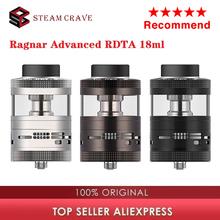 Gorący oryginalny Steam Crave Aromamizer Ragnar Advanced RDTA Atomizer 18ml E papierosowy zbiornik do e-papierosa dla Hadron 220W MOD Vs Titan RDTA tanie tanio CN (pochodzenie) undefined 35 * 58mm