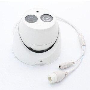 Image 4 - Caméra réseau dôme POE 6MP, microphone intégré, structure métallique, codec H.265, système infrarouge 50m, modèle IPC HDW4631C A remplaçant