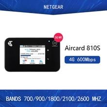 Original Unlocked Netgear Aircard AC810S 810S Cat11 600Mbps 4GX Advanced III 4G LTE Mobile Hotspot  Add jump cable pk e5787