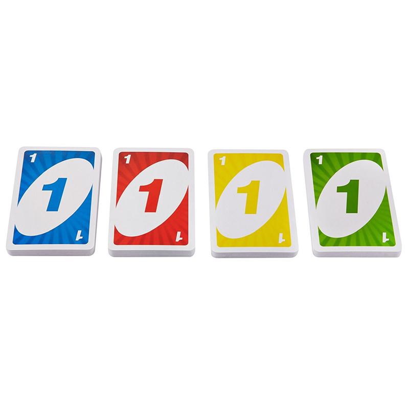 Topsale Puzzle Games 108 Cards Family Children Funny Entertainment Intelligence Board Game Fun Poker Playing Cards Gift Box