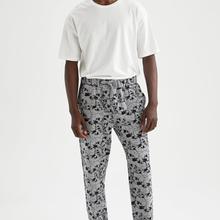 DeFacto Kuru Kafa Desenli Regular Fit Pijama Altı-T9367AZ21SP