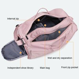 Image 3 - Grand sac étanche à la mode pour entraînements sportifs en plein air, sac à main étanche pour gymnastique, sac de Fitness pour voyage, Yoga pour hommes
