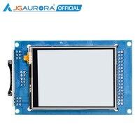 Jgaurora a5s impressora 3d display lcd a cores completas tela de toque 2.8 polegada unidade lcd tft 2.8 painel 2.8 monitor tft tft monitor