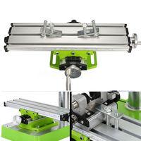 Mini Präzision Fräsmaschine Arbeitstisch Multifunktions Bohrer Schraubstock Leuchte Tisch cnc fräsen maschine