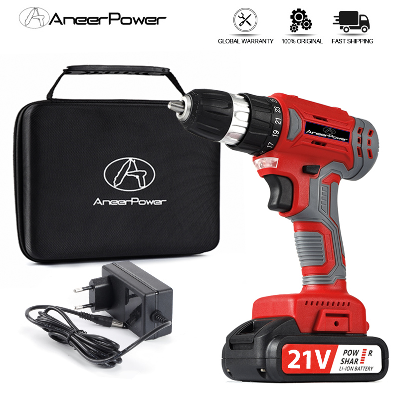21V Brushless Electric Screwdriver Cordless Drill 48N m Torque 1500mAh Rechargeable Lithium Battery Mini Electric Power Tools
