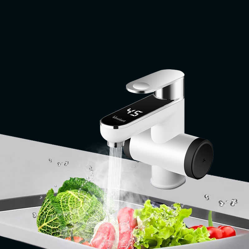220V מטבח דוד מים חשמלי ברז מים חמים מיידי ברז חימום ברז 3000W האיחוד האירופי בריטניה plug