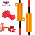 H7 50 Вт 8ohm Автомобильный светодиодный нагрузочный резистор Canbus контроллер Предупреждение компенсатор декодер светильник ошибок доступа ин...