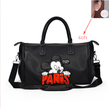 Women Large Capacity Handbag Crossbody Bags For Cartoon Pattern Travel Shoulder Bag Luggage Waterproof Weekend Duffle