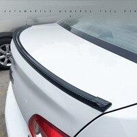 (150cm/1.5m)  광택있는 세련된 탄소 섬유 패턴이있는 보편적 인 환경 친화적 인 고무 트렁크 또는 후면 지붕 립 스포일러