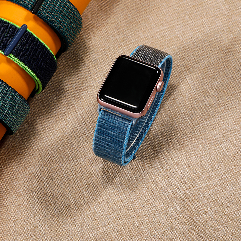 Nylon Strap For Apple Watch 5 4 Band 44mm 40mm Iwatch 3 2 Strap 42mm 38mm Colorful Applewatch Bracelet